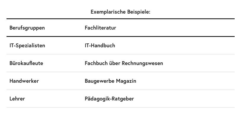 Fachliteratur-exemplarische-Beispiele