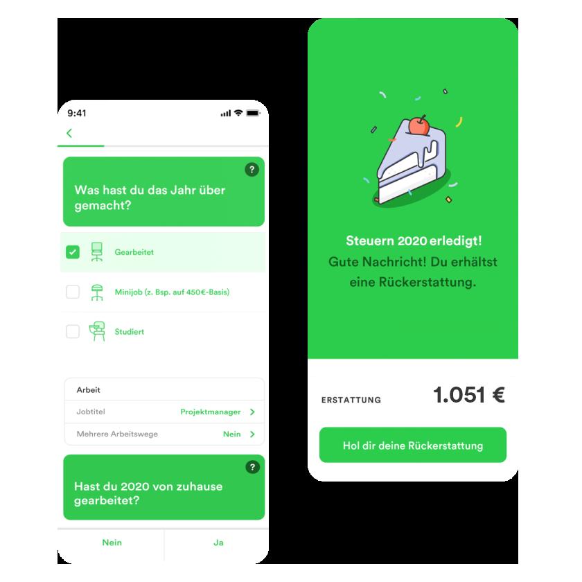 Taxfix ist die Steuer-App für deine Steuererklärung